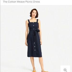 ISO - Everlane Cotton Weave Picnic Dress
